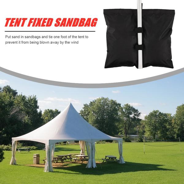 campingtentweighted, sandbag, fixedsandbag, sunshelterlegweight