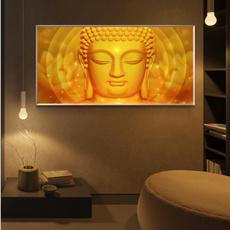 golden, canvaswallart, Wall Art, Home Decor