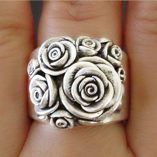 Sterling, Engagement, wedding ring, Gifts