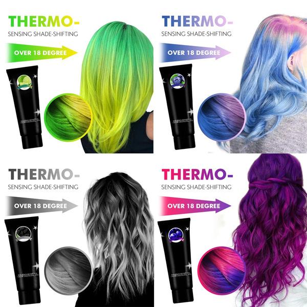 hair, hairdyecream, multicolor, diy