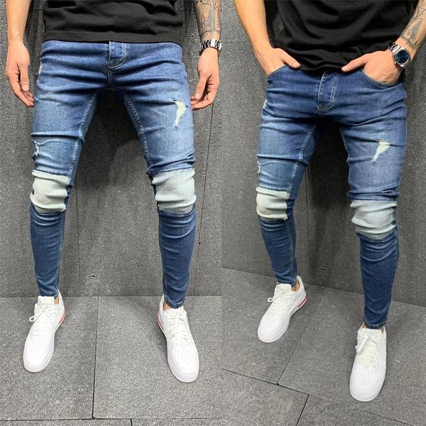 pencil, trousers, men's jeans, Denim