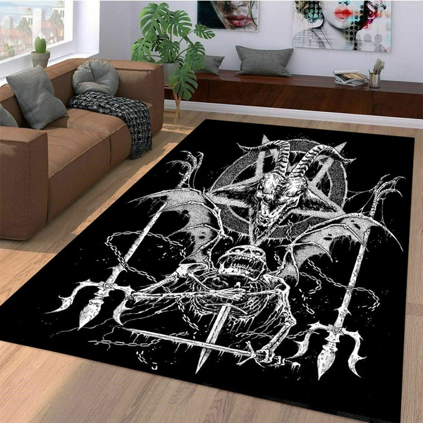Decor, Mats, skull, gothichalloween