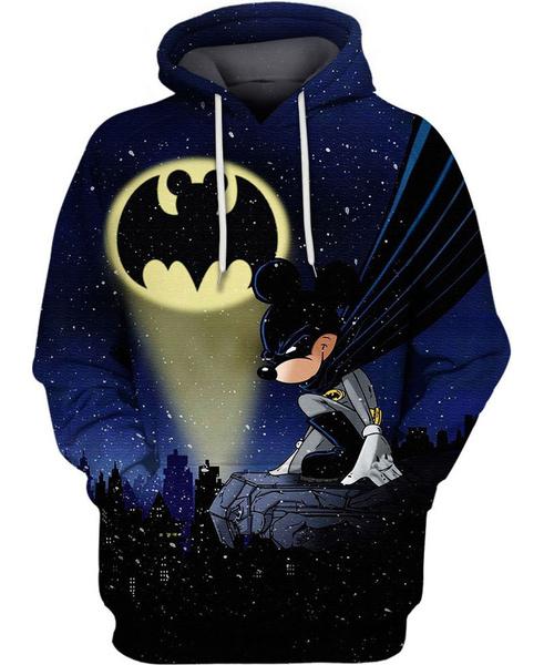 Fashion, unisex, Batman, customlabel0wishhoodieallover