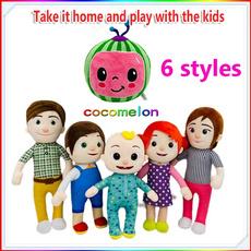 Plush Toys, cocomelonjj, doll, cocomelonholiday
