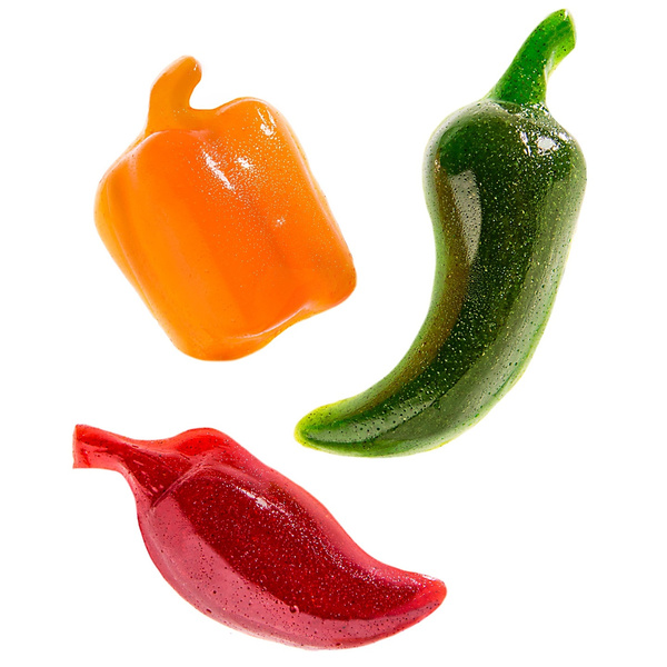 gummy, spicy, pepper