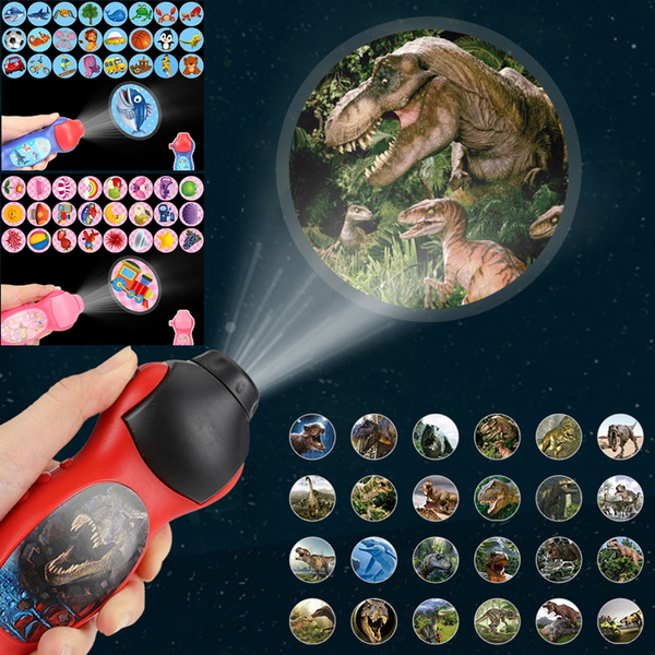 Flashlight, Educational, Toy, projector