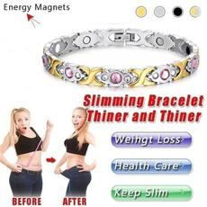 weightlossbracelet, Jewelry, magneticbracelet, Stainless Steel