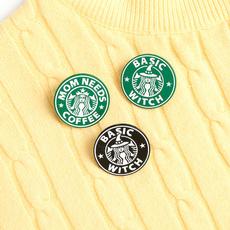 Funny, Coffee, Fashion, Witch