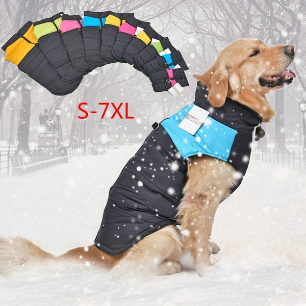 padded, Vest, dogwaterproofcoat, Winter