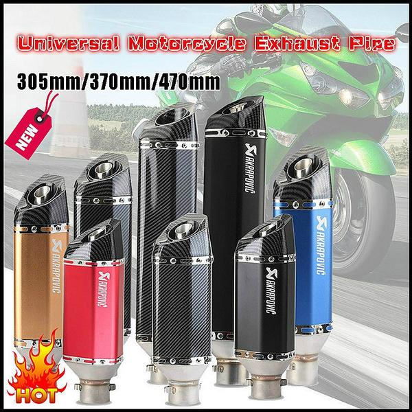 51mminnerdiameter, exhaustpipesilencer, akrapovic, motorcyclemodification