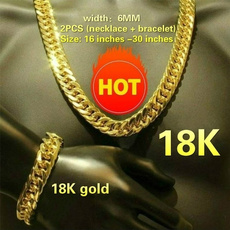 mens necklaces, Jewelry, gold, 18 k