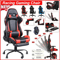 Gaming, swivel, Adjustable, headrest