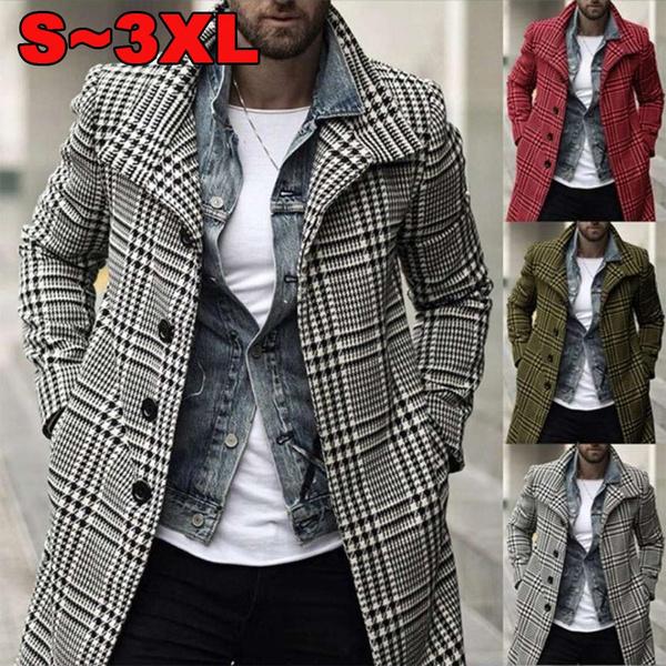 plaid, coatcoat, Winter, winterovercoat