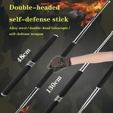 Steel, Outdoor, carbonsteelstick, telescopicstick