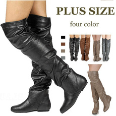 thighhighbootswomen, boots for women, Leather Boots, Winter