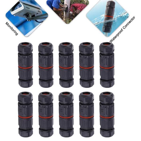 3pinwaterproofconnector, Outdoor, junctionbox, waterproofjunctionbox