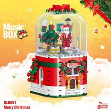 Box, musicbox, Christmas, Children's Toys