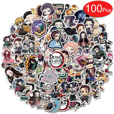 Toy, Stickers, Demon, Japanese