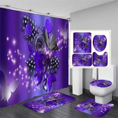 butterfly, Decor, Bathroom Accessories, Door
