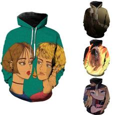 Fashion, coupletop, Hoodies, Simple