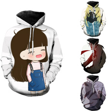 cute, hooded sweater, Simple, Sweaters