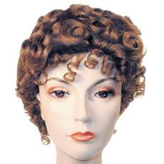 wig, Коричневий, Wigs & Hats, Grey