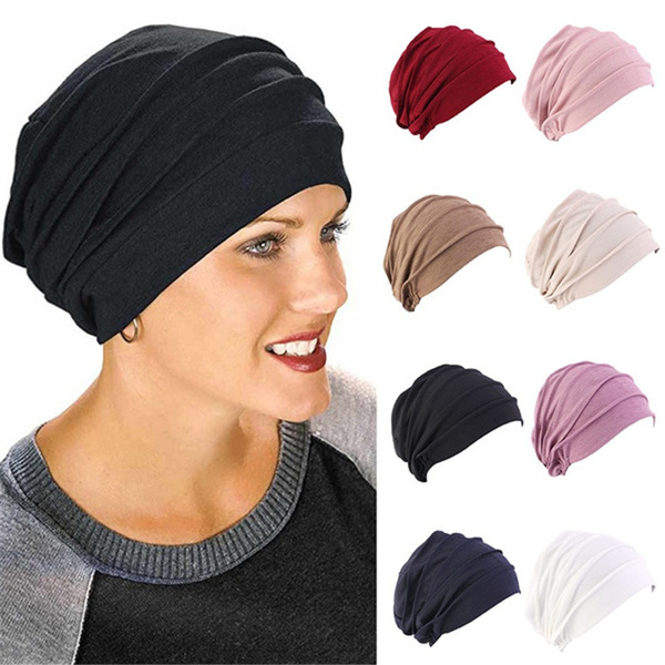 hooded, Elastic, Thickened, Cap