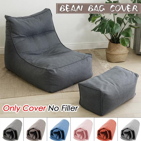 beanbagcover, beanbag, cottonlinen, Home Decor