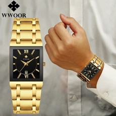 Fashion, gold, Classics, Stainless Steel