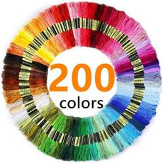 rainbow, dmc, embroiderythread, Thread