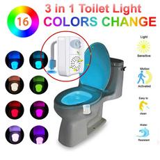 innenarchitektur, luftfrisch, toilettenlicht, uvnachtlicht