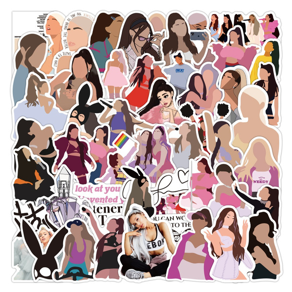 theway, arianagrande, lovemeharder, Stickers