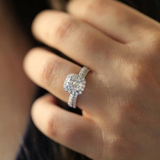 roundcut, DIAMOND, Jewelry, ringset