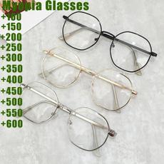 Fashion, Metal, myopia, Women's Glasses