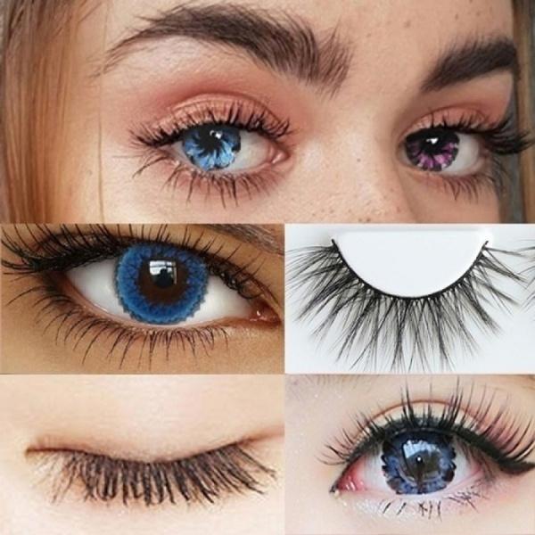 Fashion, eye, Beauty, eyelashesminknatural
