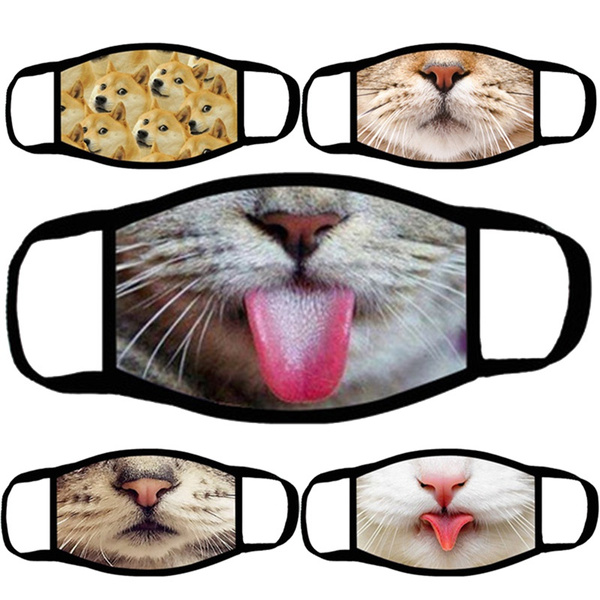Tiger, dustproofmask, unisex, Cats