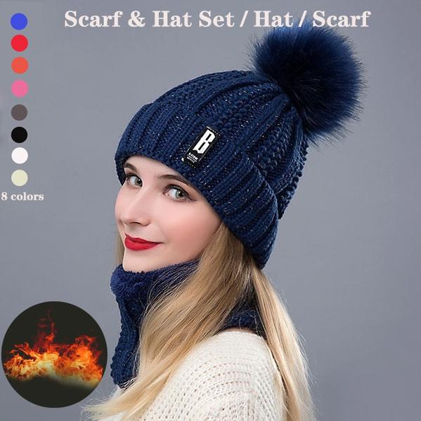 Warm Hat, winter hats for women, women scarf, Winter
