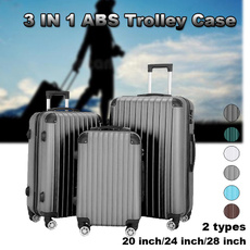 trolleycase, case, suitcaselock, Abs