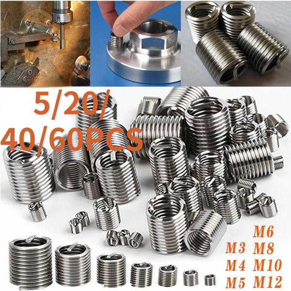 Steel, threadrepair, repairkit, Sleeve