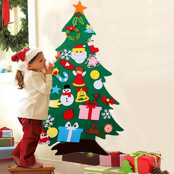 Toy, feltchristmastree, Christmas, Door