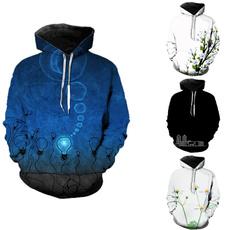 flowerpatternhoodie, Fashion, coolhoodie, Simple