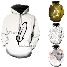 Couple Hoodies, Fashion, featherhoodie, Winter