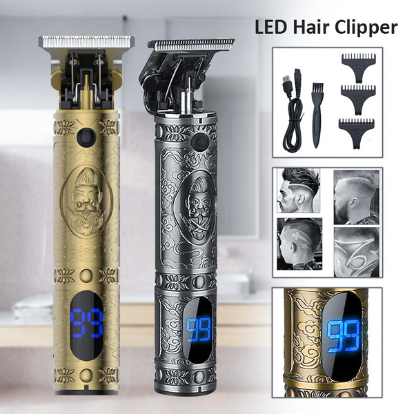 Machine, haircutting, led, rechargeablehairclipper
