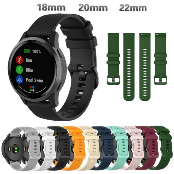 garminwatchband, Silicone, huamiamazfitgtrstrap, garminmove3swatchband