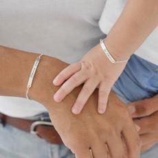 Bar, Jewelry, Family, Bracelet