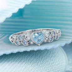 Heart, Fashion, wedding ring, sterling silver