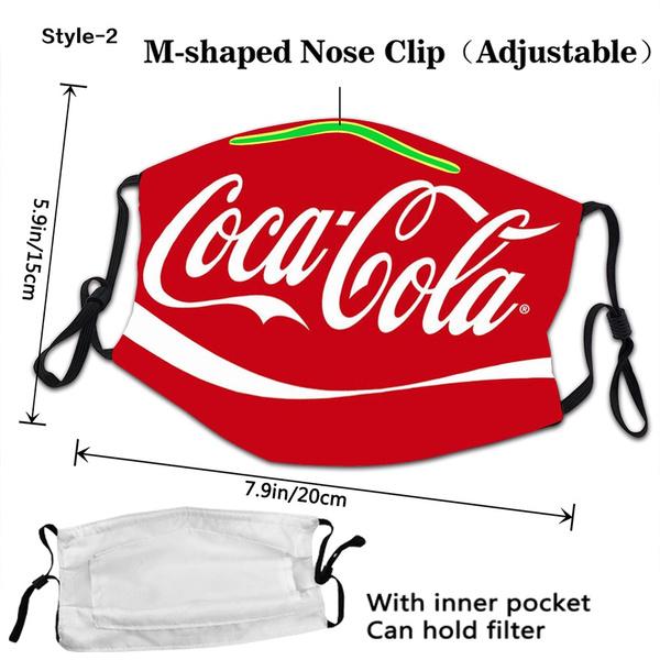 Coca Cola, washable, Fashion, safetymask