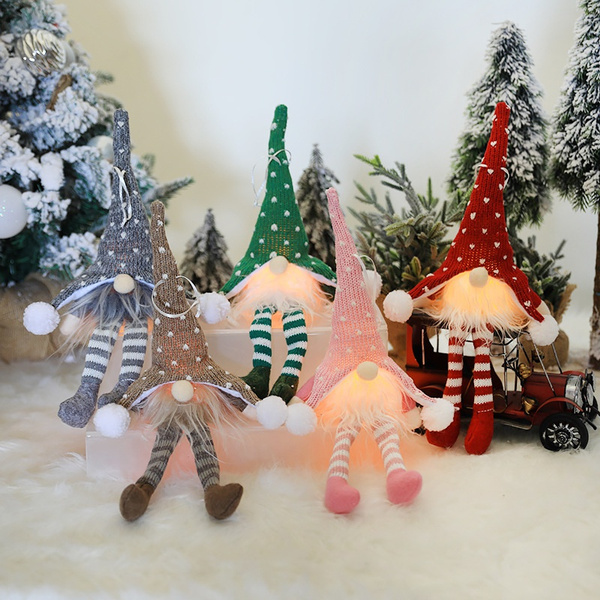 knitted, Knitting, Christmas, doll