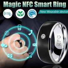 Steel, multifunctionalring, Fashion, smartring