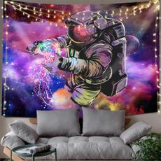 trippytapestry, Wall Art, spacetapestry, astronauttapestry